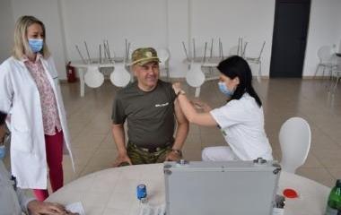 Nastavljene aktivnosti na imunizaciji uposlenika Uprave policije MUP-a ZDK