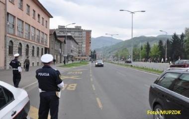 Policijski službenici Uprave policije MUP-a ZDK u zavedenoj akciji sankcionisali 109 vozača zbog vožnje pod dejstvom alkohola