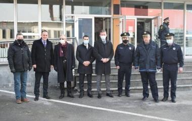 Ministar unutrašnjih poslova g. Dario Pekić  nastavlja materijalno jačanje policije